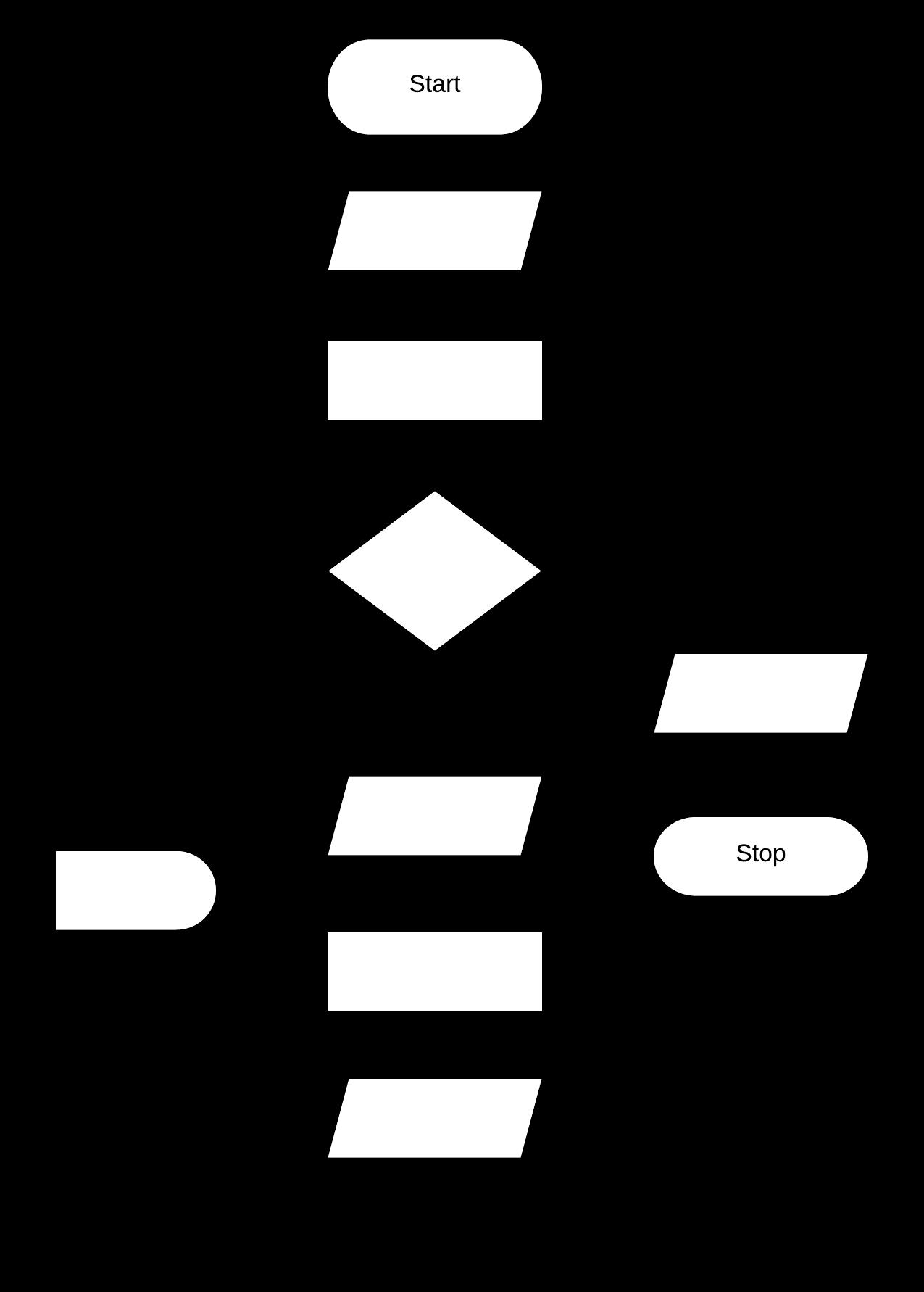 blank flowchart